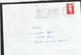 FLAMME PERMANENTE    44 BATZ SUR MER - Mechanical Postmarks (Advertisement)