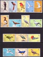 British Indian Ocean Territory 1975 SG 62-76 Compl.set Used Birds - British Indian Ocean Territory (BIOT)