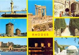 POST CARD GRECE  RODES   (AGOS100006-8) - Grecia
