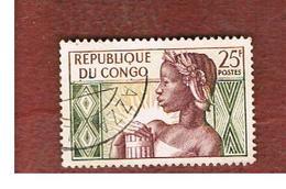 CONGO (BRAZZAVILLE) - SG 1 -  1959  1ST ANNIVERSARY OF  REPUBLIC - USED ° - Congo - Brazzaville