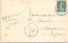 CARTE. 1911. SEMEUSE. TYPE 1884. PUY-DE-DOME. MOISSAT / 2 - 1921-1960: Moderne