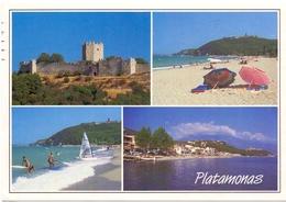 POST CARD GRECE  PLATAMONAS   (AGOS1000010-11) - Grecia