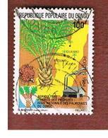 CONGO (BRAZZAVILLE) - SG 947 -  1984  AGRICULTURE: PALMS     - USED ° - Congo - Brazzaville