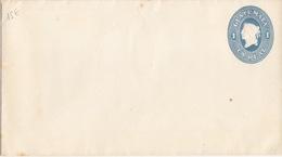 Guatemala, Lettre-Entier Neuve (159x89) 1 Réal Bleu (allégorie De La Liberté) - Guatemala