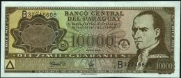 PARAGUAY - 10.000 Guaranies 2003 {triangle At Lower Left On Front} UNC P.216 B - Paraguay