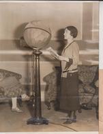 TRANSMITTER INSIDE A GLOBE BROADCASTING WESTINGHOUSE ELECTRIC NEW YORK CITY  20*15CM Fonds Victor FORBIN 1864-1947 - Fotos