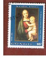 CONGO (BRAZZAVILLE) - SG 1324  -  1992 CHRISTMAS: RAFFAELLO  - USED ° - Congo - Brazzaville