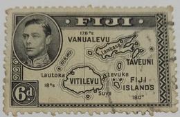 GKVI FIJI..  Used Stamp  .. Enlarge Picture - Fiji (1970-...)