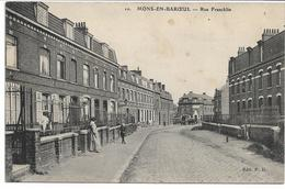 CPA NORD 59 MONS-EN-BAROEUL  Rue Francklin édit PH N°10 - France