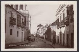CPA - Espana / Spain -  ALGECIRAS, Calle De Regino Martinez, Fotografica - Cádiz