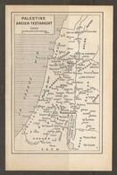 CARTE PLAN 1955 - ISRAEL - PALESTINE ANCIEN TESTAMENT - PALESTINE OLD TESTAMENT - ZEBOULON MANASSE ISSA CAR - Topographical Maps