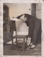 ETAT /// CHAIR AS A CLOAKROOM  20*15CM Fonds Victor FORBIN 1864-1947 - Fotos