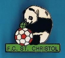 PIN'S //   ** F.C. SAINT-CHRISTOL-LES-ALES / OCCITANIE ** - Football