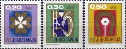 YUGOSLAVIA 1968 - AÑO NUEVO - NOUVEL AN - YVERT  Nº 1136/1138** - 1931-1941 Reino De Yugoslavia