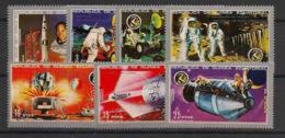 Guinée  équatoriale - 1972 - N°Mi. 18 à 24 - Apollo 15 - Neuf Luxe ** / MNH / Postfrisch - Afrika