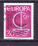 1966 Deutsche Bundespost, Gebraucht - Europa-CEPT
