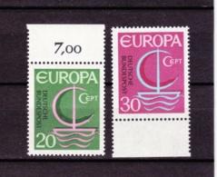 1966 Deutsche Bundespost,, Postfrisch - Europa-CEPT