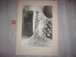 Noblesse Mariage France De Bernard De La Fosse Epouse  Jean D Andigné 1939 Photo Paris Peeters - Célébrités