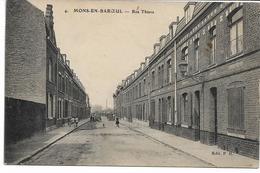 CPA NORD 59 MONS-EN-BAROEUL  Rue Thiers   édit PH N°4 - France