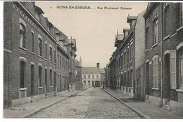 CPA NORD 59 MONS-EN-BAROEUL  Rue Florimond Delmer  édit PH N°2 - France