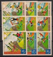 Guinée  équatoriale - 1974 - N°Mi. 337 à 345 - Football World Cup 74 - Neuf Luxe ** / MNH / Postfrisch - Coppa Del Mondo