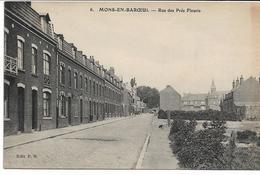 CPA NORD 59 MONS-EN-BAROEUL Rue Des Prés Fleuris     édit PH N°6 Carte En Feldpost ! - France