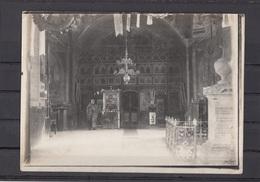 Romania / Roumanie / Rumanien - Interior Biserica - Photo Made In WW1 By German Soldiers - Rumania