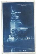EXPOSITION INTERNATIONALE PARIS 1937 . AFFR AU VERSO LE 19 VIII 1937 . 2 SCANES - Expositions