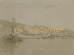 TROUVILLE Le Port 2 Photos Vers 1890 CALVADOS 14 - Places