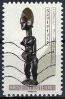 France 2019 Oblitéré Used Le Nu Dans L'Art Sculpture Côte D'Ivoire - Oblitérés