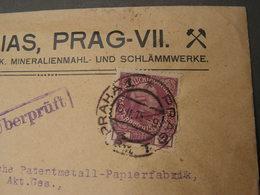Prag Cv. 1915 Reklame - 1850-1918 Imperio