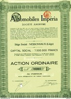 AUTOMOBILES IMPÉRIA - Automobile
