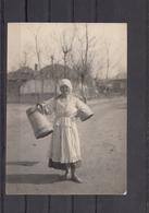 Romania / Roumanie / Rumanien - Fata Cu Cobilita - Photo Made In WW1 By German Soldiers - Romania