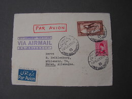 Egypt Only ..front Part Of Nice Cv. 1932 Port Said Traffic - Luftpost