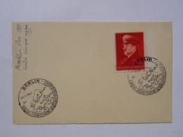 1941 DR Postkarte Pmk Europas Einheitsfront Gegen Den Bolschewismus - Briefe U. Dokumente