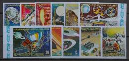 Guinée  équatoriale - 1975 - N°Mi. A587 à A597 - Coopération Spatiale - Neuf Luxe ** / MNH / Postfrisch - Afrika