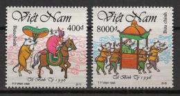 Vietnam - 1996 - N°Yv. 1596 à 1597 - Année Du Rat - Neuf Luxe ** / MNH / Postfrisch - Vietnam
