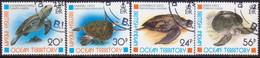 British Indian Ocean Territory 1996 SG 185-88 Compl.set Used Turtles - British Indian Ocean Territory (BIOT)