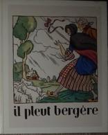 Petit Calendrier Poche 1986 Chanson Comptine Il Pleut Bergère Illustration Tapabor - Combrée - Petit Format : 1981-90