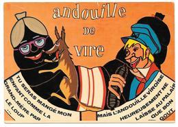 14 - Andouille De Vire - éd. Cim Combier - 1976 - Illustrateur LÉCRIVAIN - Loup - Vire