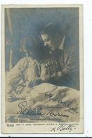 Actors Autographed Signed Mr. Seymour Hicks Wife And Baby  Beagles Posted 1905 - Entertainers