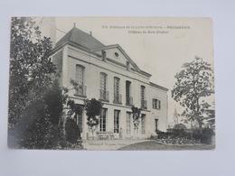 BOUGUENAIS - Château Du Bois-Chabot  Ref 0182 - Bouguenais