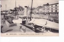 130 - HONFLEUR - Le Bateau Du Havre Et Le Quai Beaulieu.  - LL - Honfleur