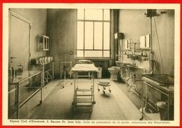 Etterbeek: Hôpital Civil - Square Dr. Jean Joly - Salle De Pansement De La Garde, Admissions Des Hospitalisés - Santé, Hôpitaux