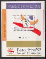 Guinée  équatoriale - 1992 - N°Mi. Bloc 321 - Barcelona / Olympics - Neuf Luxe ** / MNH / Postfrisch - Äquatorial-Guinea