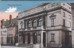 CPA Tournai - Le Théâtre - Fussartillerie Bataillon Nr. 56 - 1917 (42867) - Tournai
