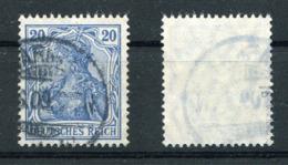 Deutsches Reich Michel-Nr. 87Ib Gestempelt - Geprüft - Oblitérés