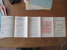 BAVAY LES FILS DE A. DEROME ENGRAIS DEROME PRIX-COURANT PRINTEMPS 1911 - Advertising
