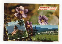 Malosco (Trento) - Cartolina Multipanoramica - Viaggiata Nel 1981 - (FDC16463) - Trento