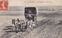 Algérie - Laghouat - Le Courrier à La Prise D'eau - Laghouat